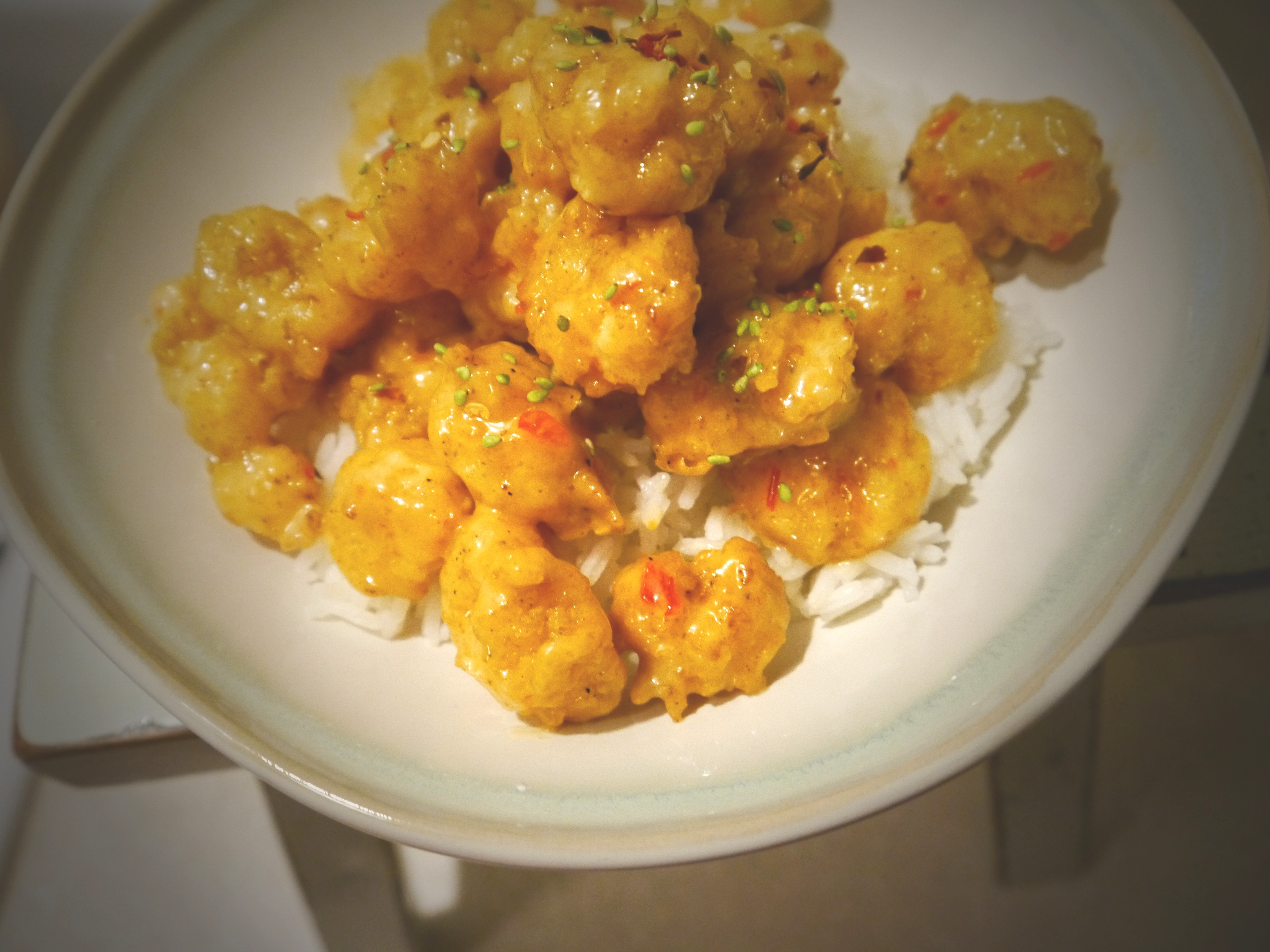 Dynamite Rock Shrimp | Capers in Cooking